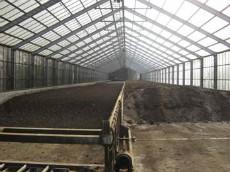 堆肥製造(処理能力:14t/日)