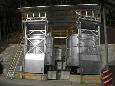 有機肥料製造(処理能力:16.5t/日)